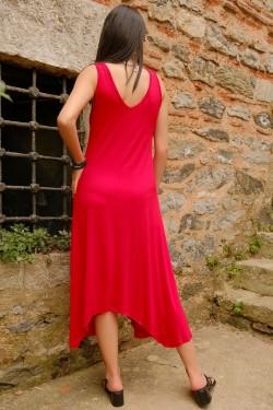 Kırmızı Halkalı Elbise