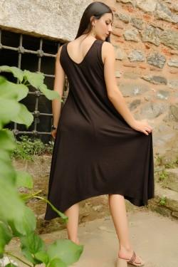 Siyah Halkalı Elbise