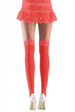 Mite Love Gelin Jartiyer Çorabı Kırmızı