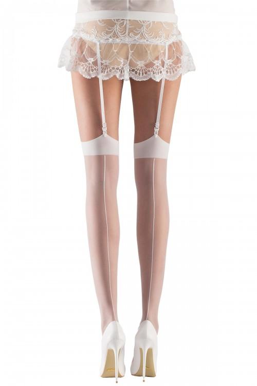 Gelin Jartiyer Çorabı Beyaz