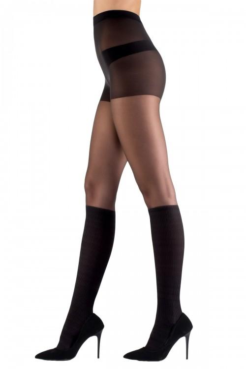 Külotlu Çorap Fantazi Siyah