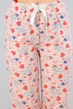 İçi Tüylü Pijama Altı Ekrupudra - 4482.1300.