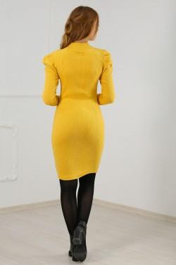 Prenses Kol Elbise Sarı - 8095.716.