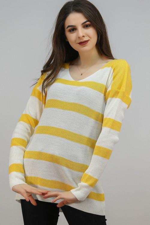 Sarı Baharlık Triko