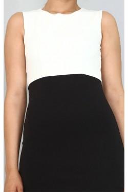 Siyah Ceket & Mini Elbise Takım