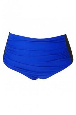 Siyah ve Mavi Bikini Altı