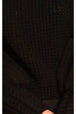 Örme Siyah Kazak
