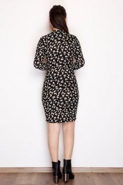 Örme Krep Mini Balıkçı Elbise